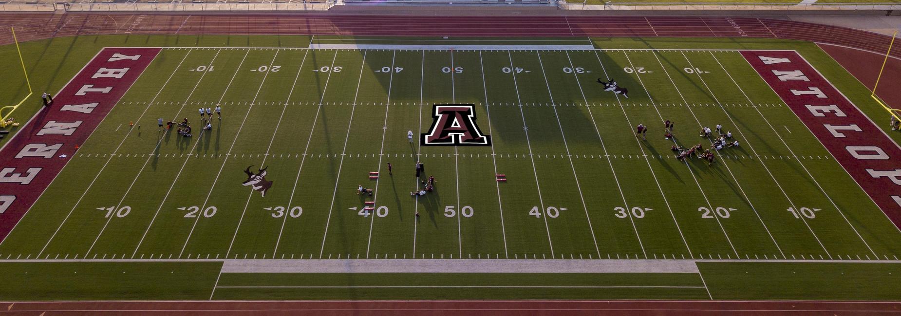 Abernathy Antelope Football field
