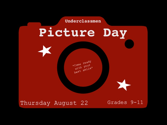 Underclassmen Pictures Are Thursday, August 2nd Featured Photo