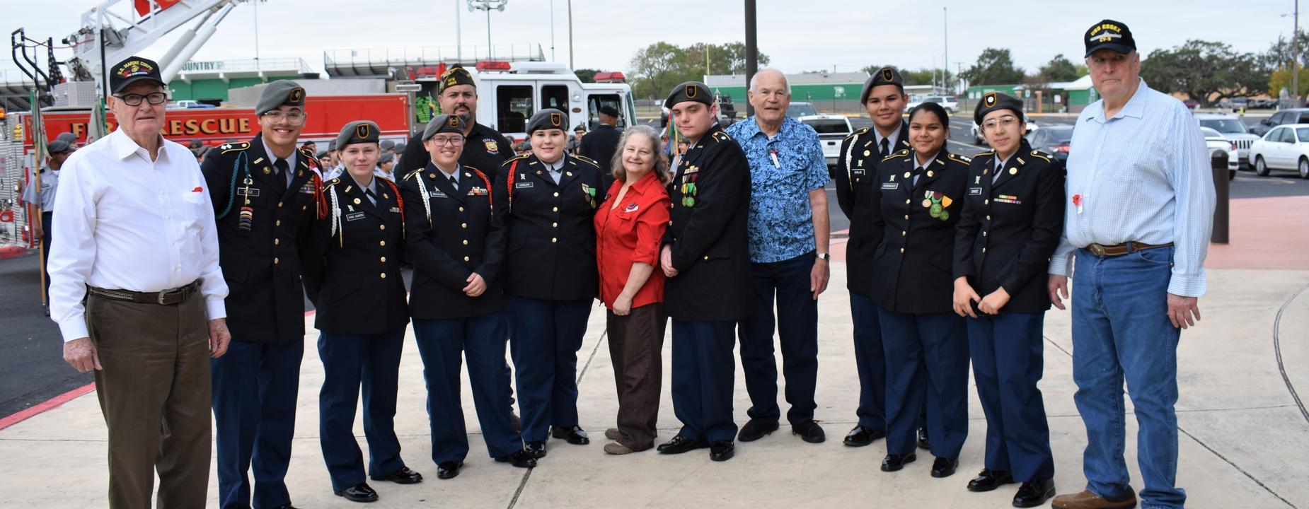 HS Veterans Ceremony