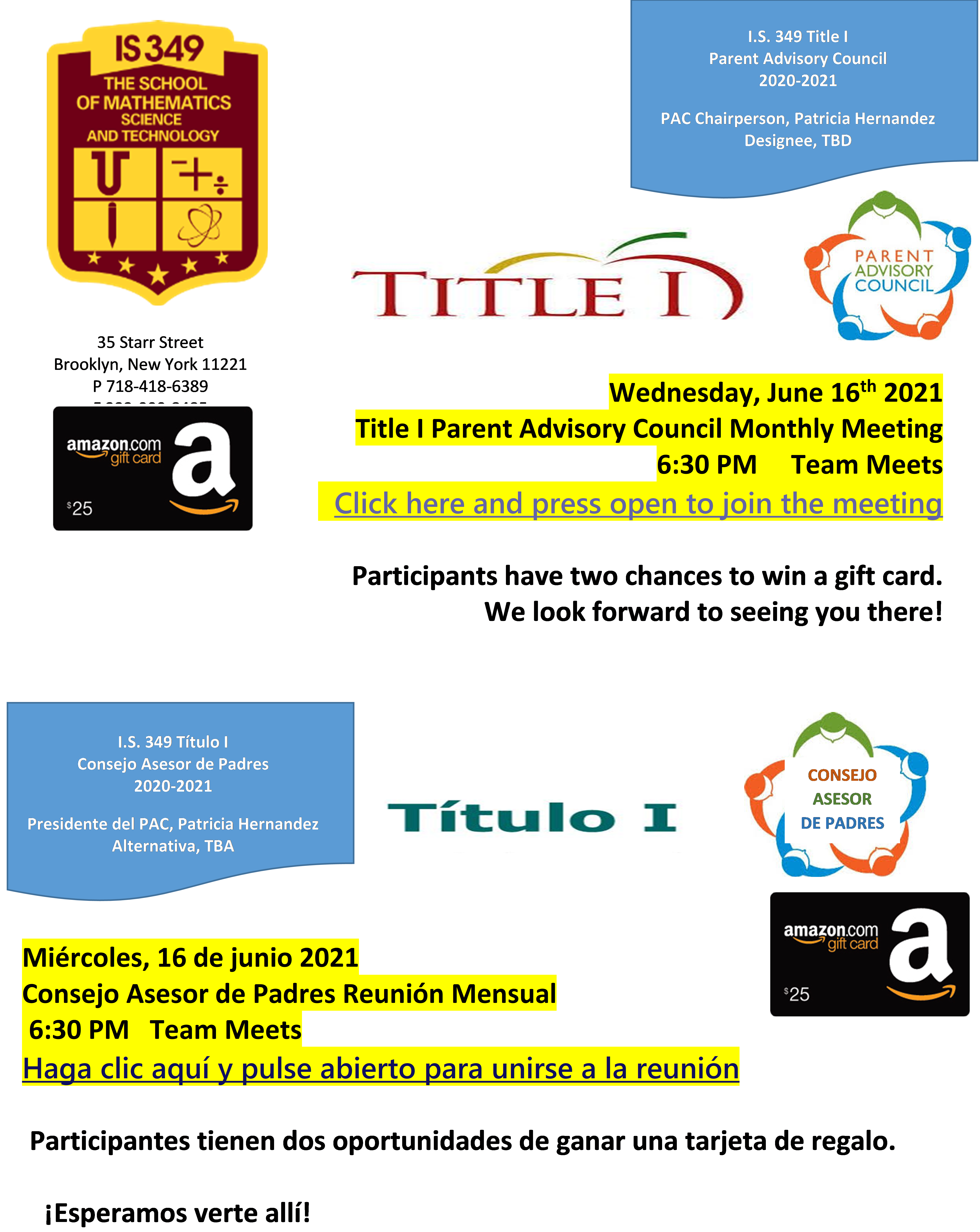 PAC Meeting Flyer 6 16 21