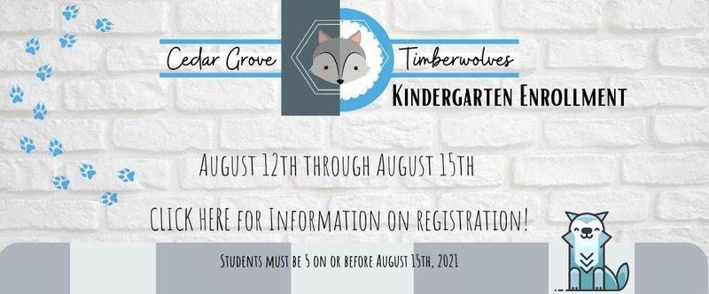 Kindergarten Enrollment Open April 12th! Thumbnail Image