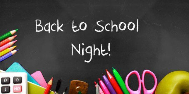 Back to School Night - Monday, August 26th, 2019 Thumbnail Image