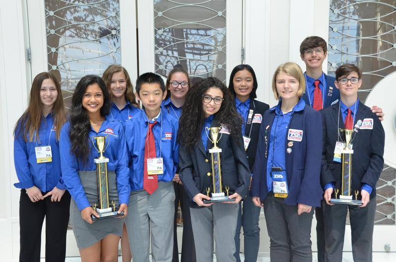 Richland Technology Students Win Big at National Conference Featured Photo