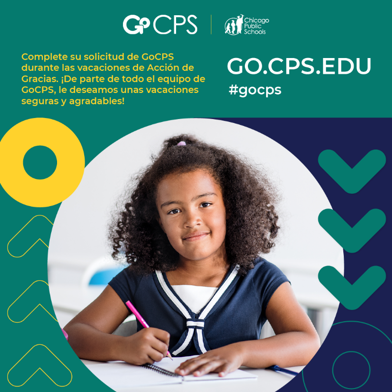 GoCPS-Only Two Weeks to Apply After Thanksgiving Break! Featured Photo