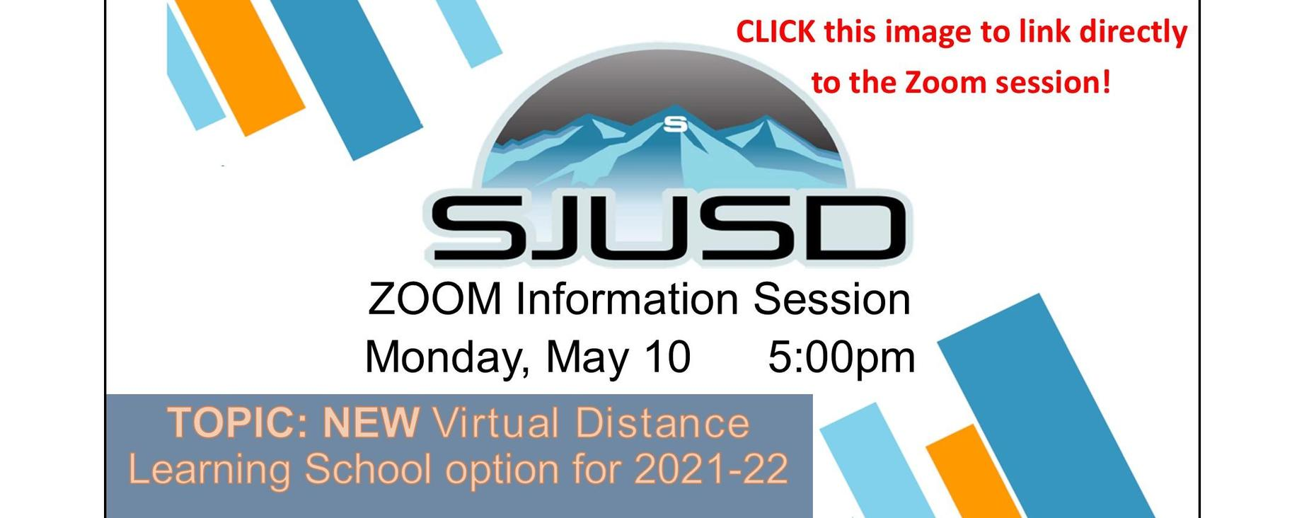 New virtual school option for 2021-22 Zoom information session