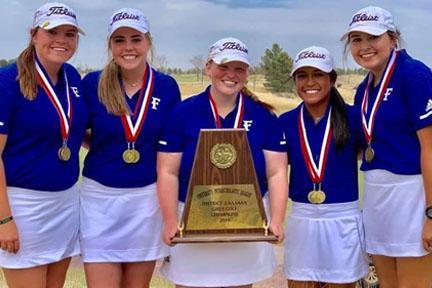 FHS Girls Golf District Winners