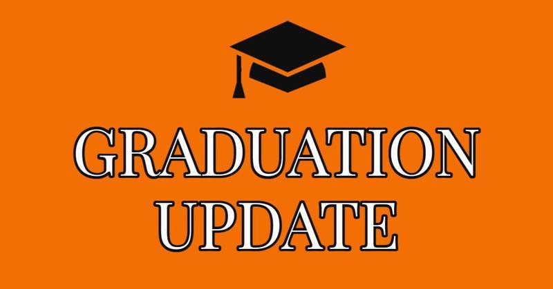 Graduation Postponed to Friday June 4 Featured Photo