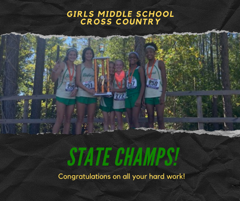 Girls Cross Country State Champs! Featured Photo