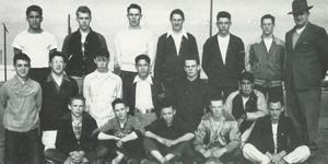1949-50 NHS boxing team