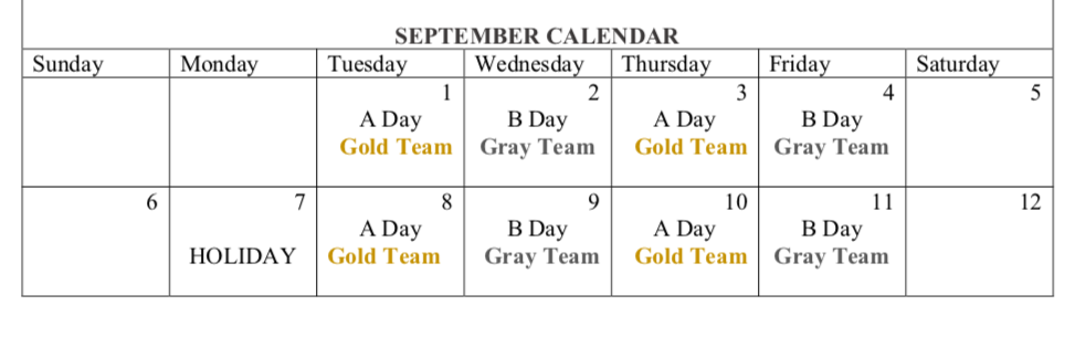hybrid schedule