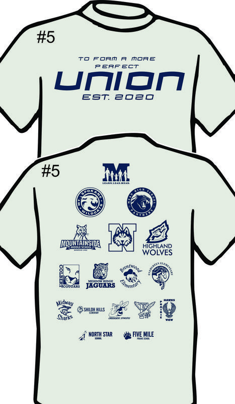Battle of the Bell T-shirts