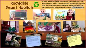 Recyclable Desert Habitats