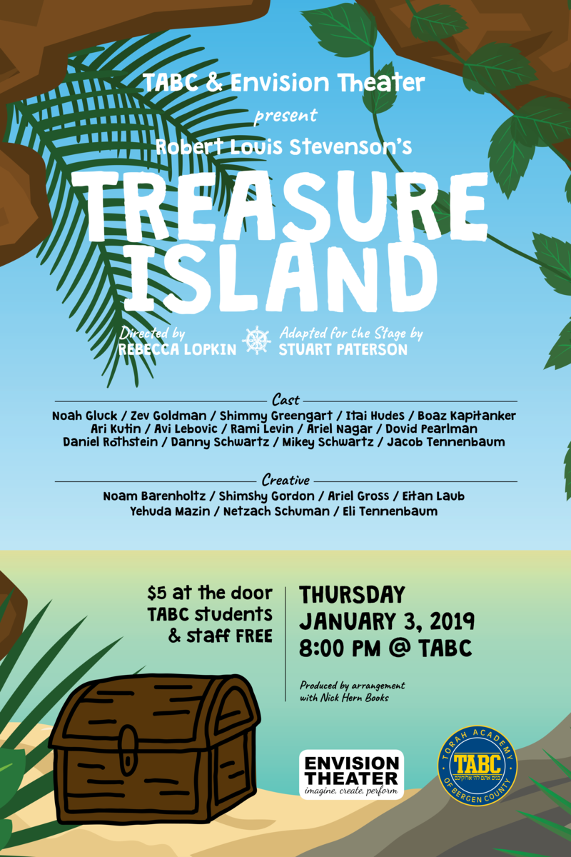 Treasure Island - Performance January 3rd! Thumbnail Image