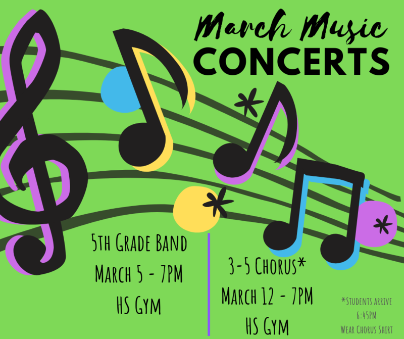 March Music Concerts