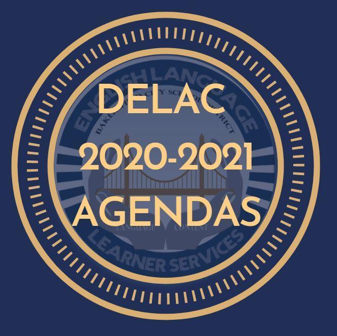 DELAC Agendas