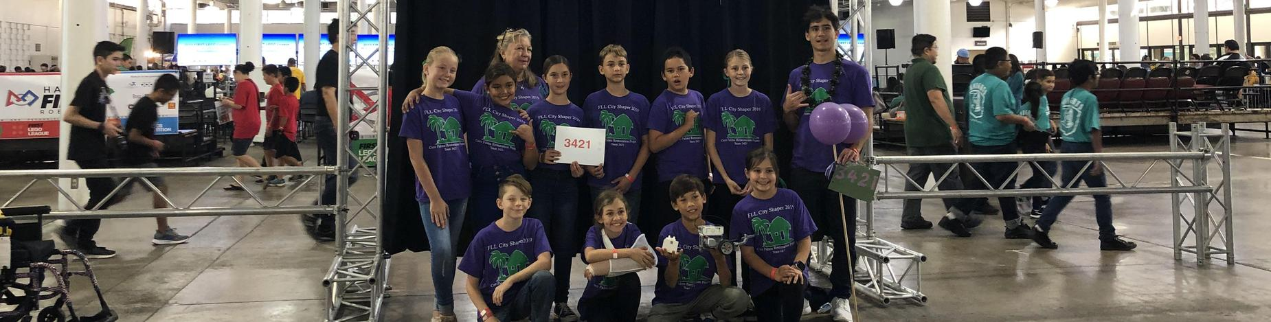 Kilauea Robotics Kids Team 3421!