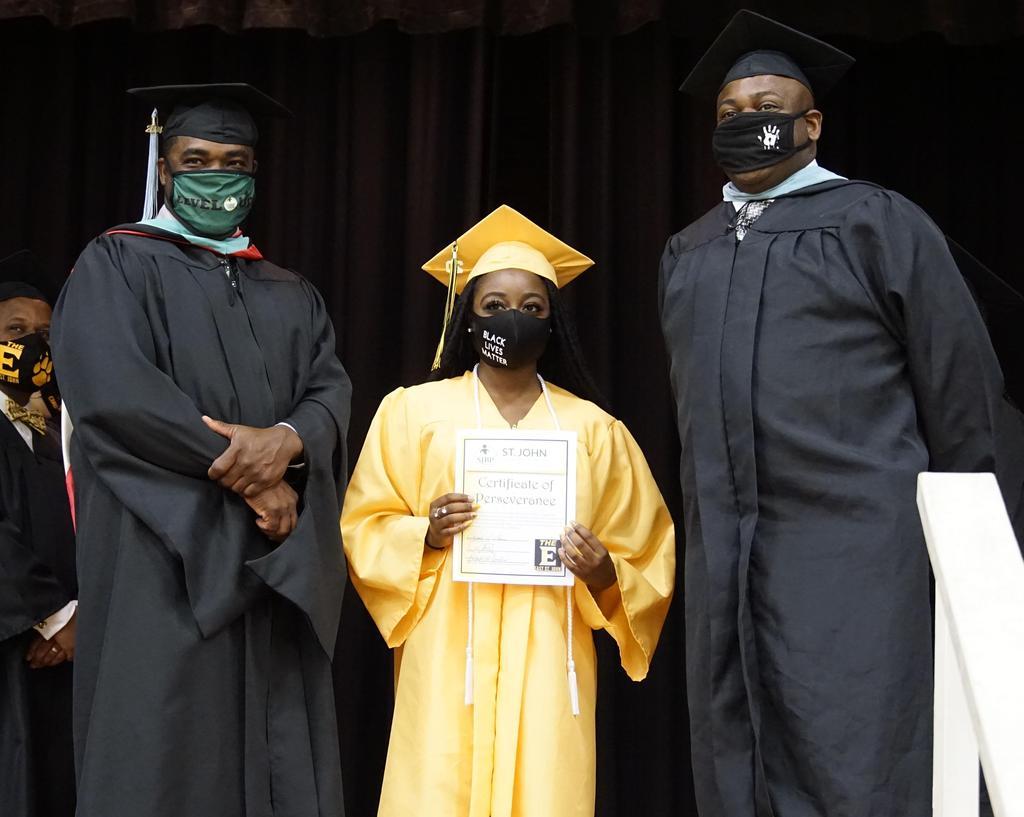 East St. John High graduation