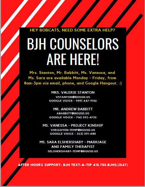 BJH Counseling Flier