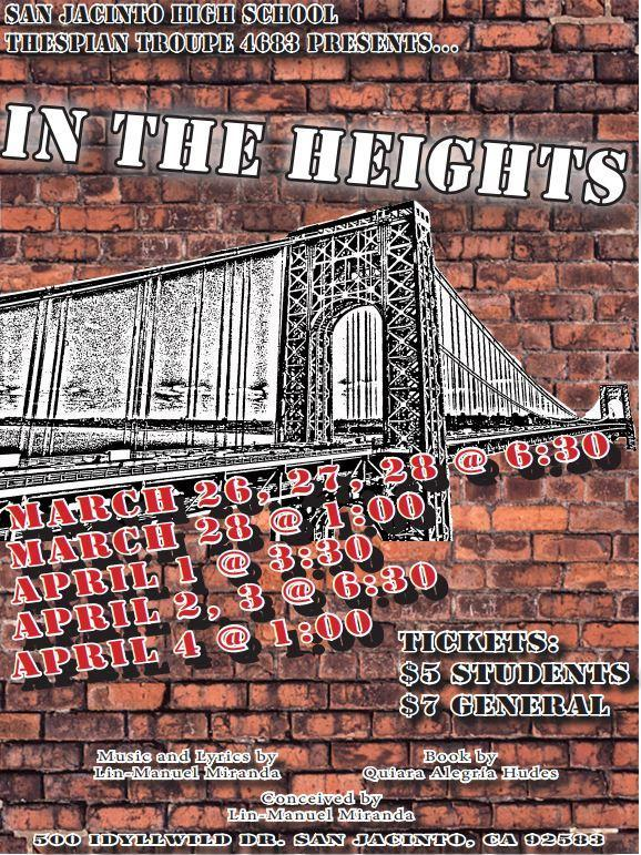 In the Heights Spring Musical