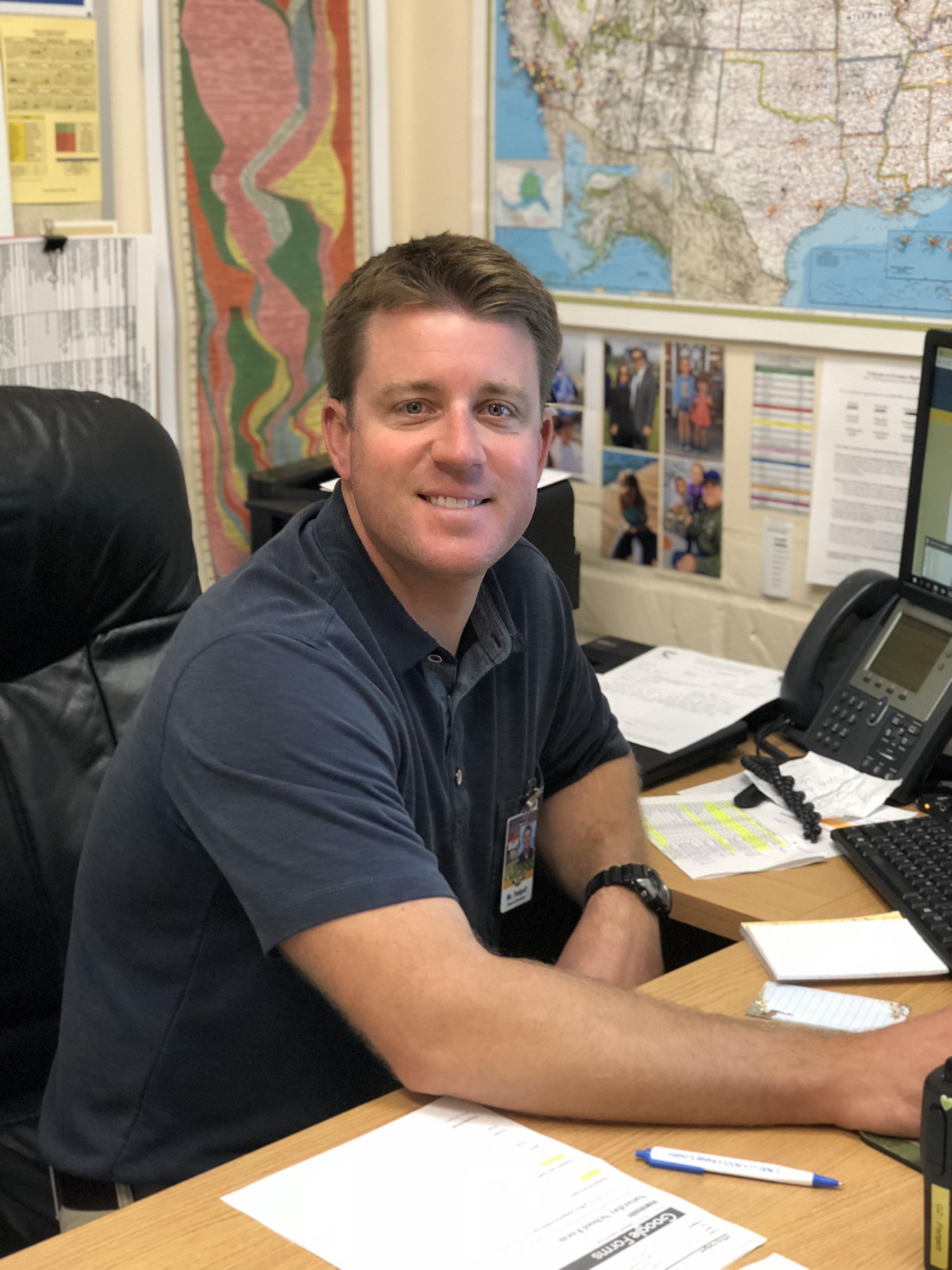 Jeff Padgett, Dean of Students
