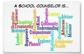 School Counselor Word Art
