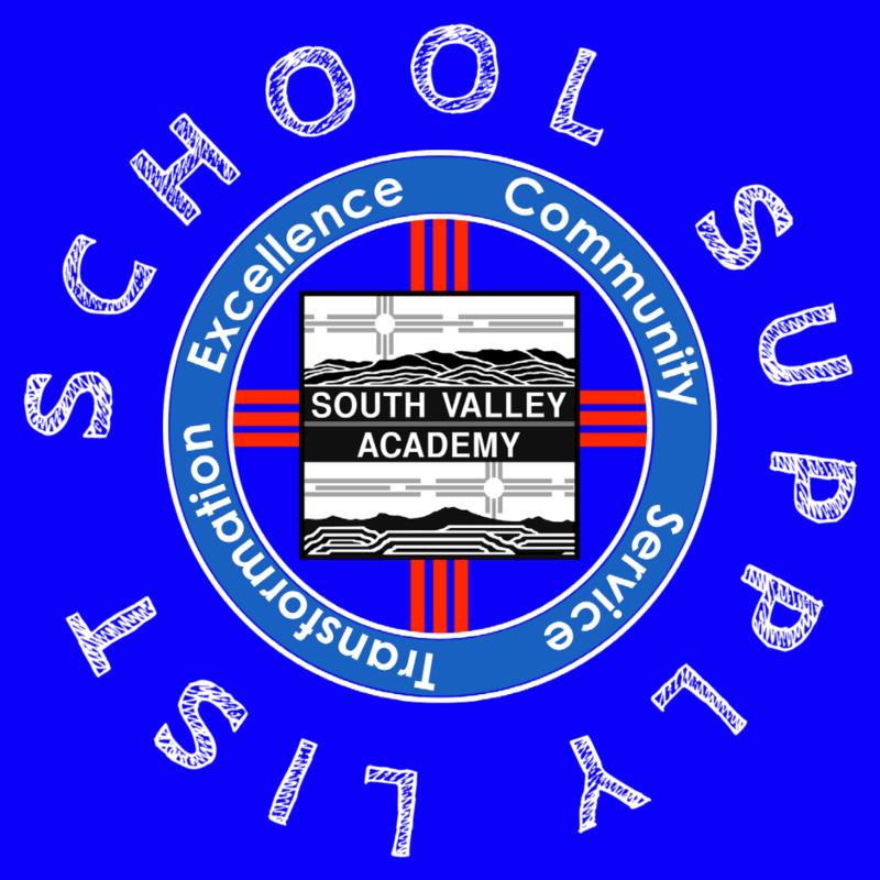 School Supply List PNG