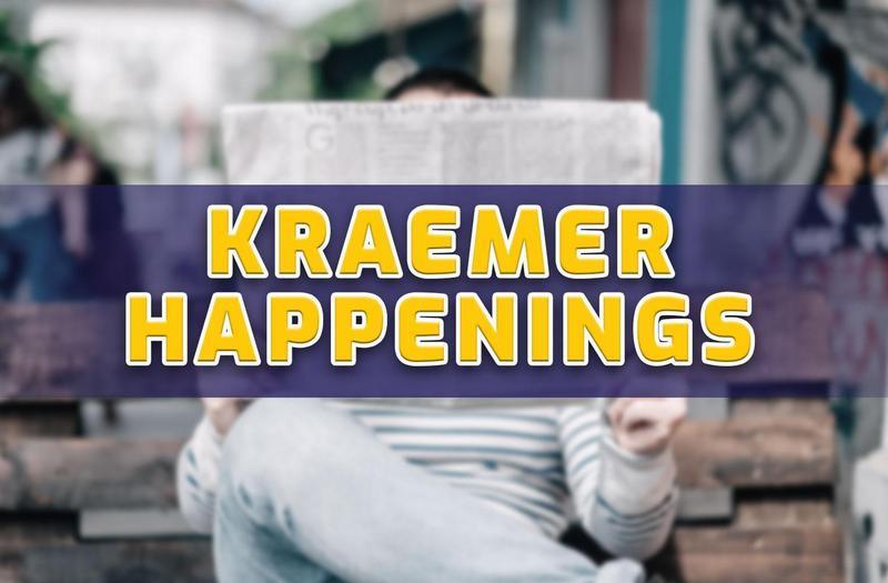 Kraemer Happenings: April 1, 2019