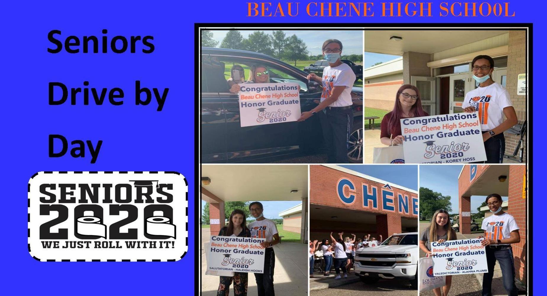 Seniors Drive By Day Celebration