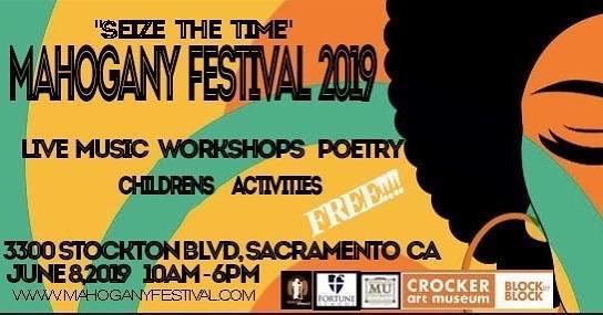 The Mahogany Festival Flyer