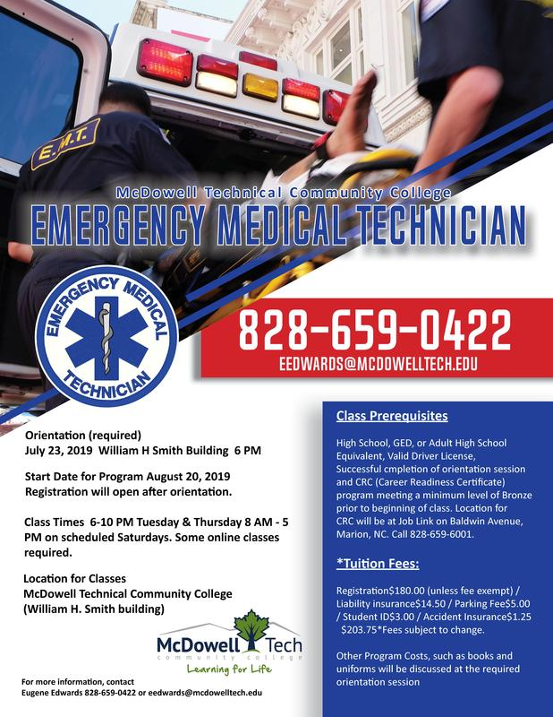 EMT class promotion