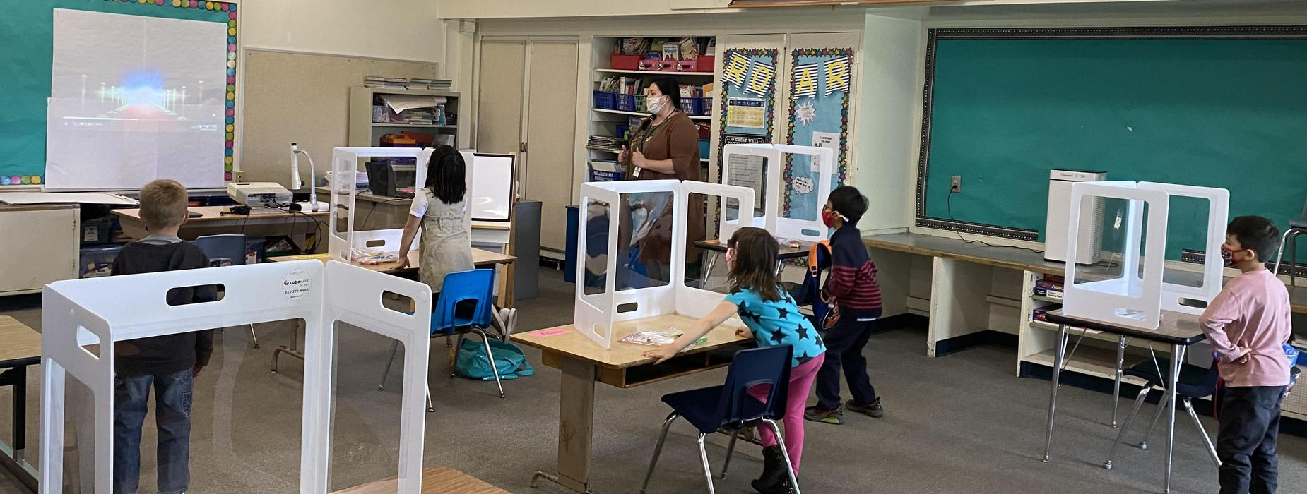 Granada students are back for in-person learning
