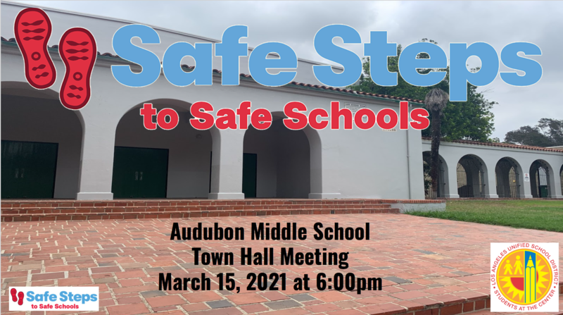 Safe Steps to Return to School Town Hall - Monday, March 15 at 6pm Featured Photo