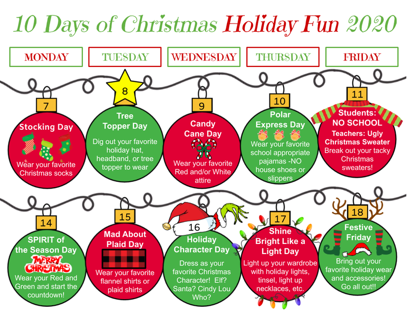 10 Days of Christmas Holiday Fun Featured Photo