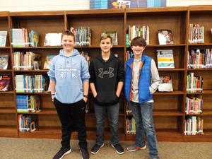 Evan, Drew, & Ethan
