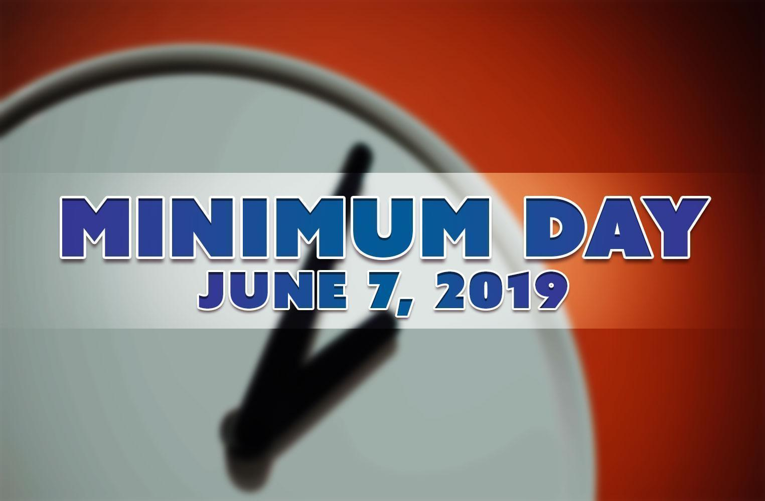 Minimum Day 2019