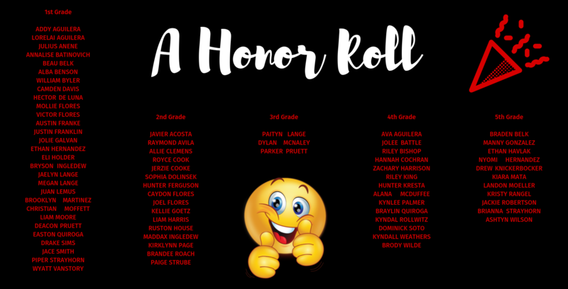 Great Job A Honor Roll! Featured Photo
