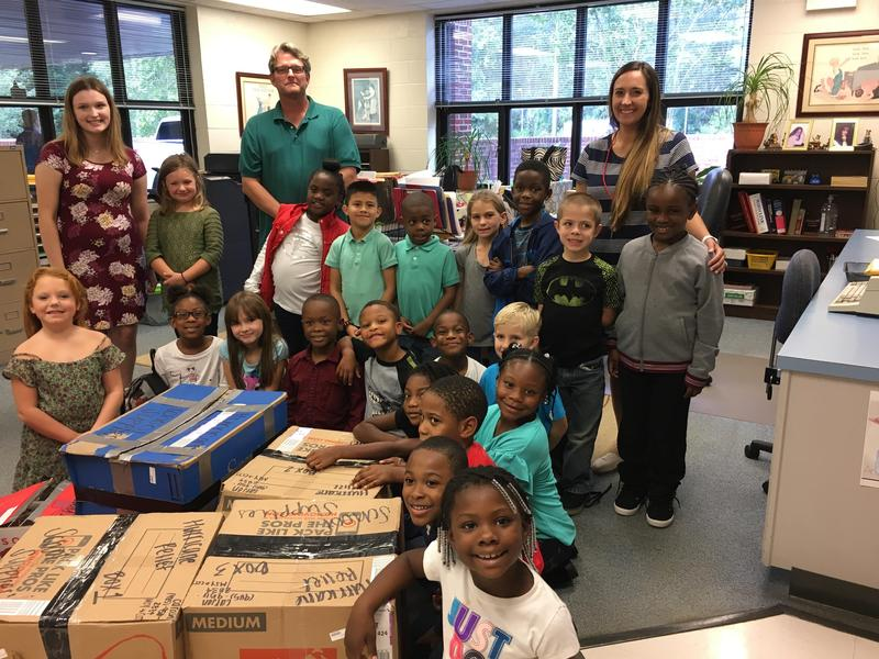 Louisiana student donates to Cheraw students Featured Photo