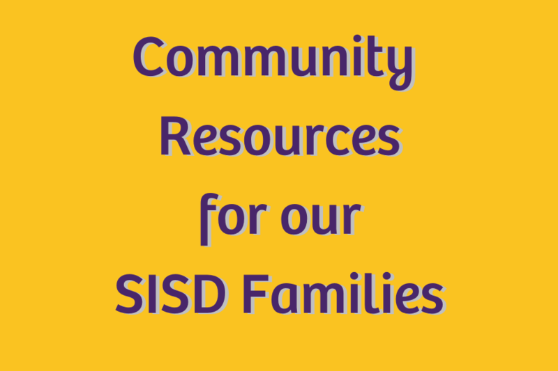 community resources for our sanger isd families