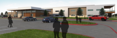Image of Rendering of Outside of New Pleasant Run Elementary