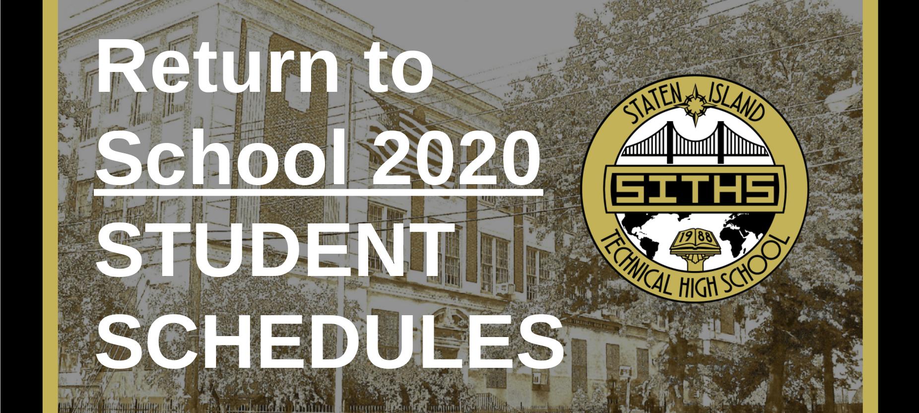 Student Schedules