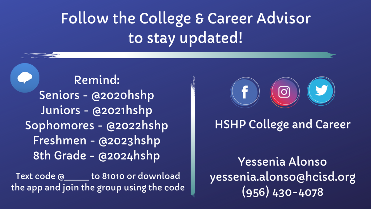 college and career contact info