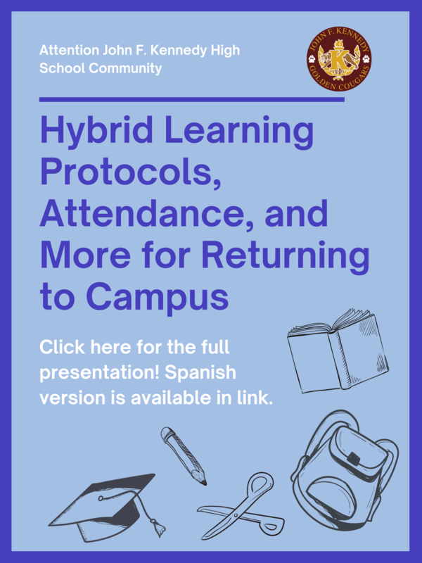 Hybrid Learning Protocols, Attendance, and More Important Notices Featured Photo