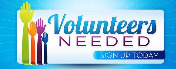 Volunteers Needed Featured Photo