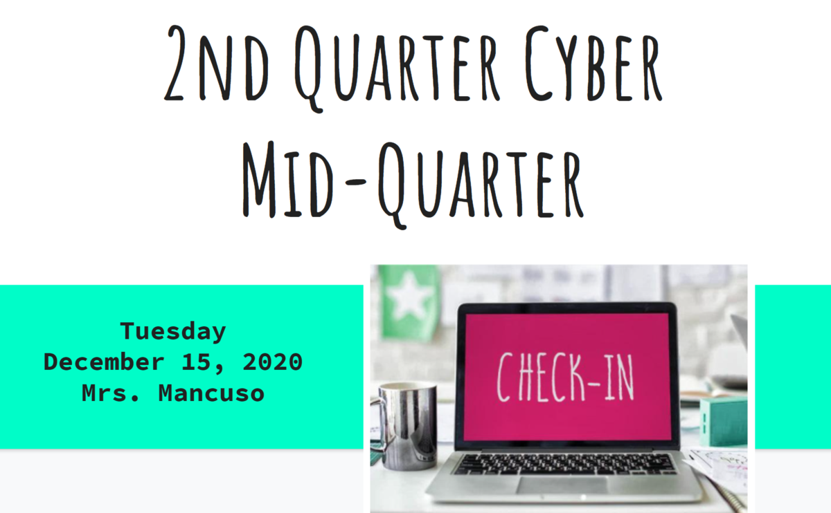 mid-quarter check-in2