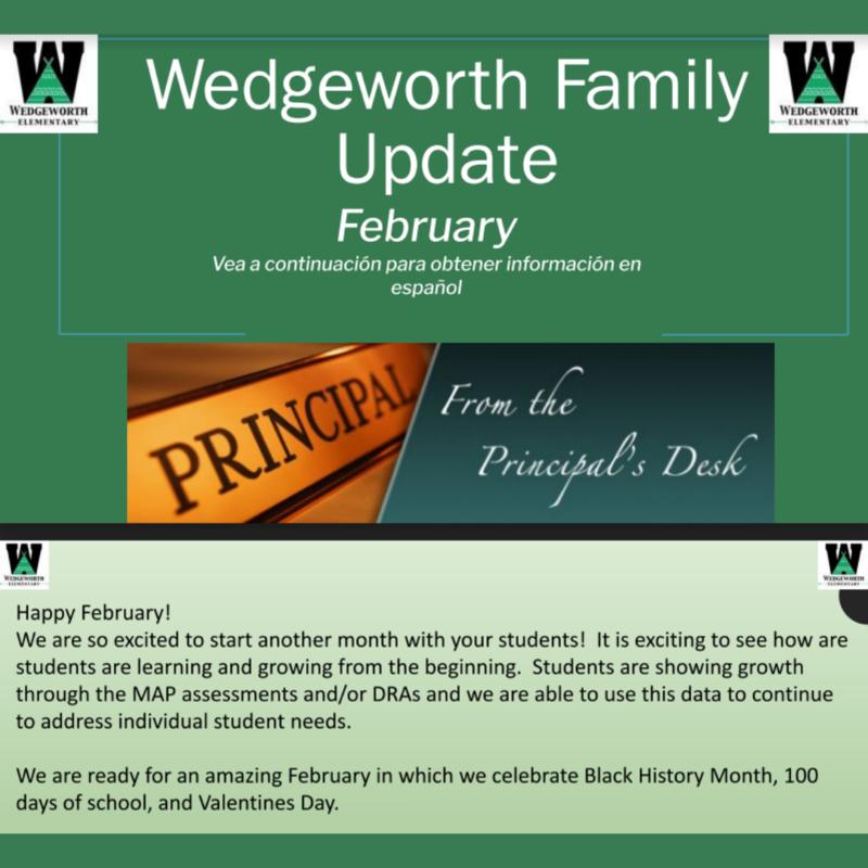 Wedgeworth newsletter header