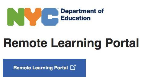 Remote Learning Portal