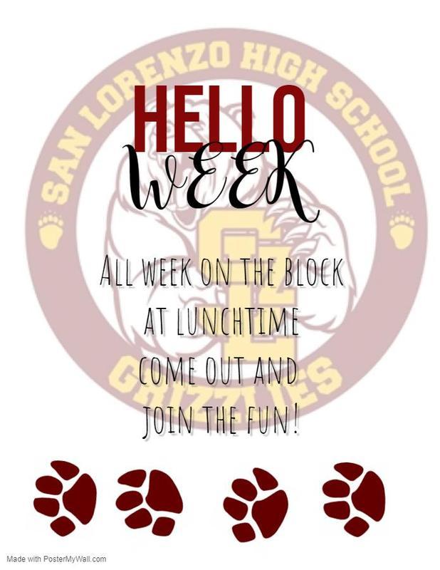 Hello Week! Featured Photo