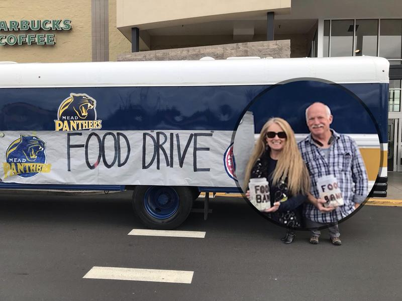 Transportation Department Food Drive