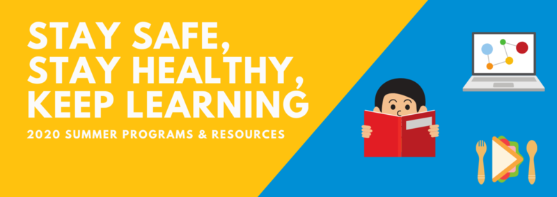 Stay healthy, safe, keep learning