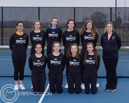2019 Girls Freshmen Tennis